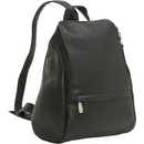Le Donne Leather LD-030  U-Zip Mini Backpack