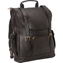 Le Donne Leather LD-044  Classic Laptop Backpack