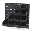 LEWISBins+ ESD-Safe Wall Mounted Storage System - LP1818-CON