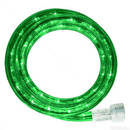 LEDgen C-ROPE-LED-GR-1-10-18 10MM 18' Spool Of Green LED Ropelight