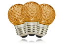 LEDgen G40-RETRO-OR - G40 Non-dimmable Orange Commercial Retrofit bulb with an E26 base and 10 Internal LED Chips