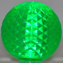 LEDgen G50-RETRO-GR - G50 Non-dimmable Green Commercial Retrofit bulb with an E17 base and 5 Internal LED Chips