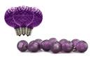LEDgen G50-RETRO-PU - Retrofit G50 non dimmable, LED Purple Party Lamp, E17 base, 5 internal-LEDs