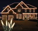 LEDgen S-ICM5WW-IG - Standard Icicle M5 Warm White LED Light Set on Green Wire