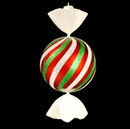 LEDgen WL-CDY-40-RGW - 3.5' Red, White and Green Peppermint Candy
