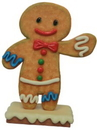 LEDgen WL-GNBR-BOY-3.75- 45'' Polyresin Ginger Bread boy.