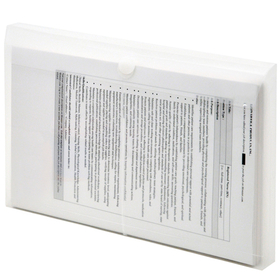 LION 22050 VEL-CLOSE-R Clear Poly Envelopes, Price/PACK