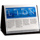 LION 39008-H FLIP-N-TELL Display Book-N-Easel