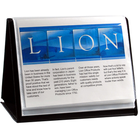 LION 39008-H FLIP-N-TELL Display Book-N-Easel, Price/EACH