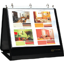 LION 40008 INSTA-COVER Ring Binder Easel