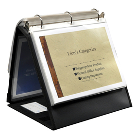 LION 40009 INSTA-COVER Ring Binder Easel, Price/EACH