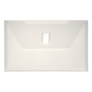 LION 92000-CR DESIGN-R-LINE Poly Envelope with Extra Pocket, 6