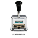 LION A-31 PRO-LINE Heavy-Duty Automatic Numbering Machine, 13-wheel - Roman - 1 Each