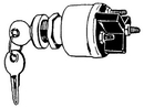 MarineWorks IGNITION STARTER SWITCH UN12140 (Image for Reference)