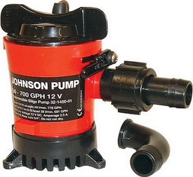 JohnsonPump 750GPH CARTRIDGE BILGE PUMP 32702 (Image for Reference), Price/Each