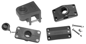 """Scotty2000 RAIL ADAPTER GREY 7/8"""" - 1"""" 242GR (Image for Reference), Price/Each"""
