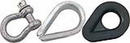 SeaDog GALV ANCHOR SHACKLE, 1/4
