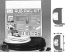Taco VINYL RUB RAIL, BLK/WHT 50' V11-0809BWK50-2 (Image for Reference)