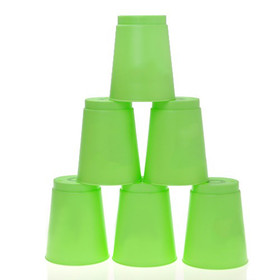 GOGO Sport-Stacking Cups, Flying Cup 12-Set, Cool Stack Game, Great for School