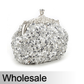 Cute Sequin Evening Clutch - Wholesale