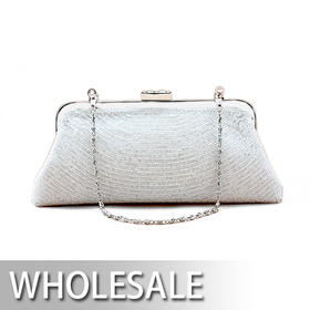 Toptie Full Beaded Evening Handbag - Wholesale