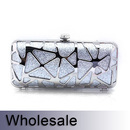 Toptie Fashion Designed Glitter Hand Case Clutch - Wholesale