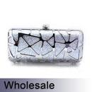 Toptie Fashion Designed Glitter Hand Case Clutch - Wholesale