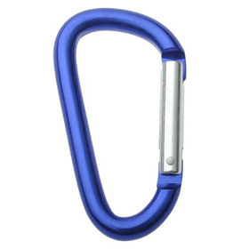 GOGO Wholesale Aluminum D-shaped Carabiners