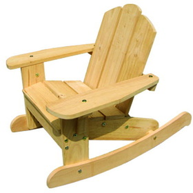 Lohasrus Kids Rocking Chair in Natural