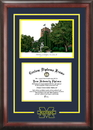 Campus Images MI982SG University of Michigan Spirit  Graduate Frame with Campus Image