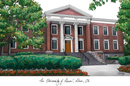 Campus Images OH983 University of Akron  University Campus Images Lithograph Print