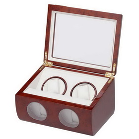 Double Watch Winder w/ 2 Storage & Smart Program