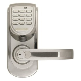 Lockstate LS-6600-R-S Keyless Handle Door Lock
