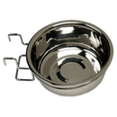 Stainless Steel Coop Cups with Wire Holders, 10 oz