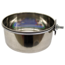 Stainless Steel Coop Cups with Steel Clamp Holders, 20 oz