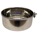 Stainless Steel Coop Cups with Steel Clamp Holders, 30 oz