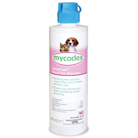 Lambertvet Supply Mycodex SensiCare Flea & Tick Shampoo, 12 oz