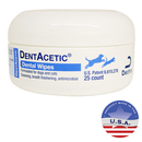 DentAcetic Dental Wipes, 25 ct