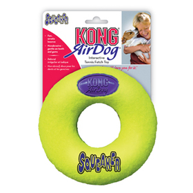 Air Kong Squeaker  Tennis Donut