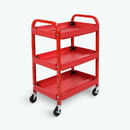 Luxor ATC332 Utility Cart PLASTIC / STEEL, L: 15.5, H: 32, W: 22
