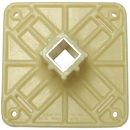 BOLCO Plastic Anchor Top Plate With Steel Insert