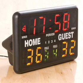 White Line Equipment Portable Multi-Sport Scoreboard & Timer, Price/Each