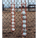 White Line Equipment Hanging Ball Holder - Baseball Size