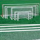 Kwik Goal Dlx Pntd European Club Goal - 4 1/2'H x 9'W x 2'D x 5'B