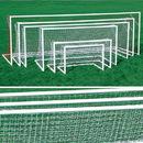 Kwik Goal Dlx Pntd European Club Goal - 8'H x 24'W x 3'D x 8 1/2'B