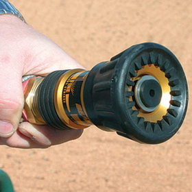 "White Line Equipment Hot Shot Professional 1"" Hose Nozzle, Price/Each"