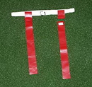 White Line Equipment Flag Football Set - Red