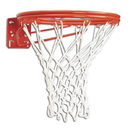 Bison BA37 Double Rim Fixed Front Mount Basketball Goal