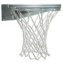 Bison BA39U Ult Fixed Front Mount Basketball Goal - Galvanized