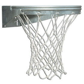 Bison BA39U UltFixed Front Mount Basketball Goal-Galvanized, Price/Each